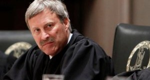 Virginia Supreme Court LeRoy Millette, Jr.,  in the court chambers (AP Photo/Steve Helber)